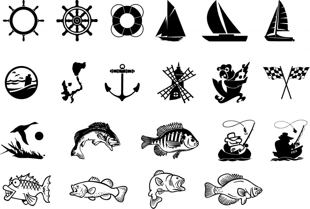 Dock Sign Clipart