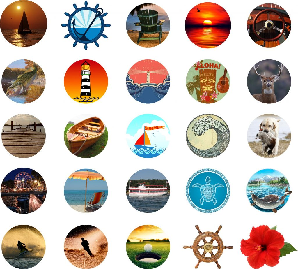 Dock Sign Clipart2