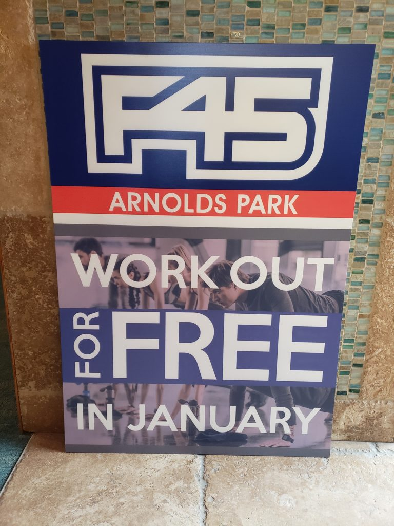 F45 January Sign