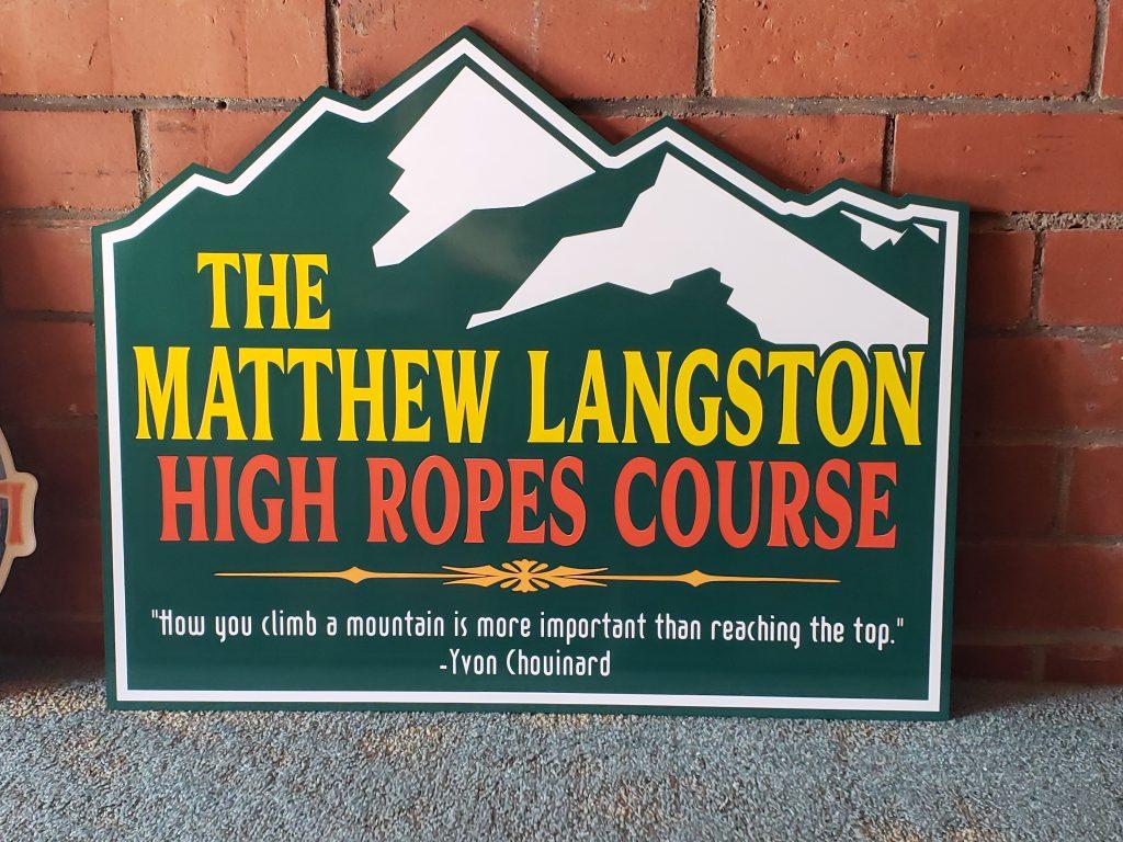 Matthew Langston High Ropes Course